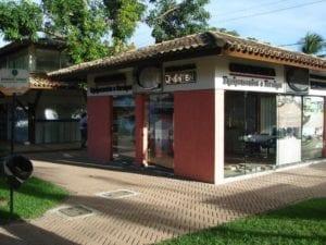 Piso BERNINI Slim aplicado no Shopping Ponto Verde em Lauro de Freitas, Bahia.