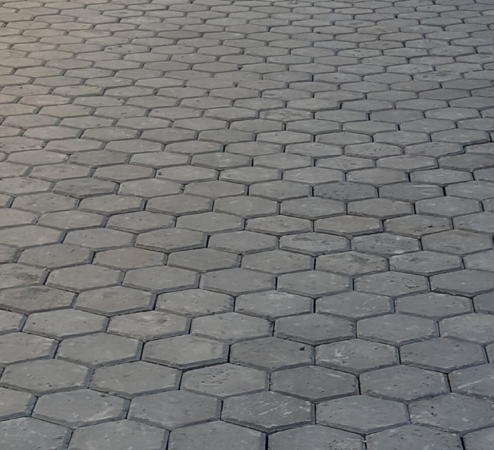 Exemplo de aplicação do PISO VINCENZO Street.