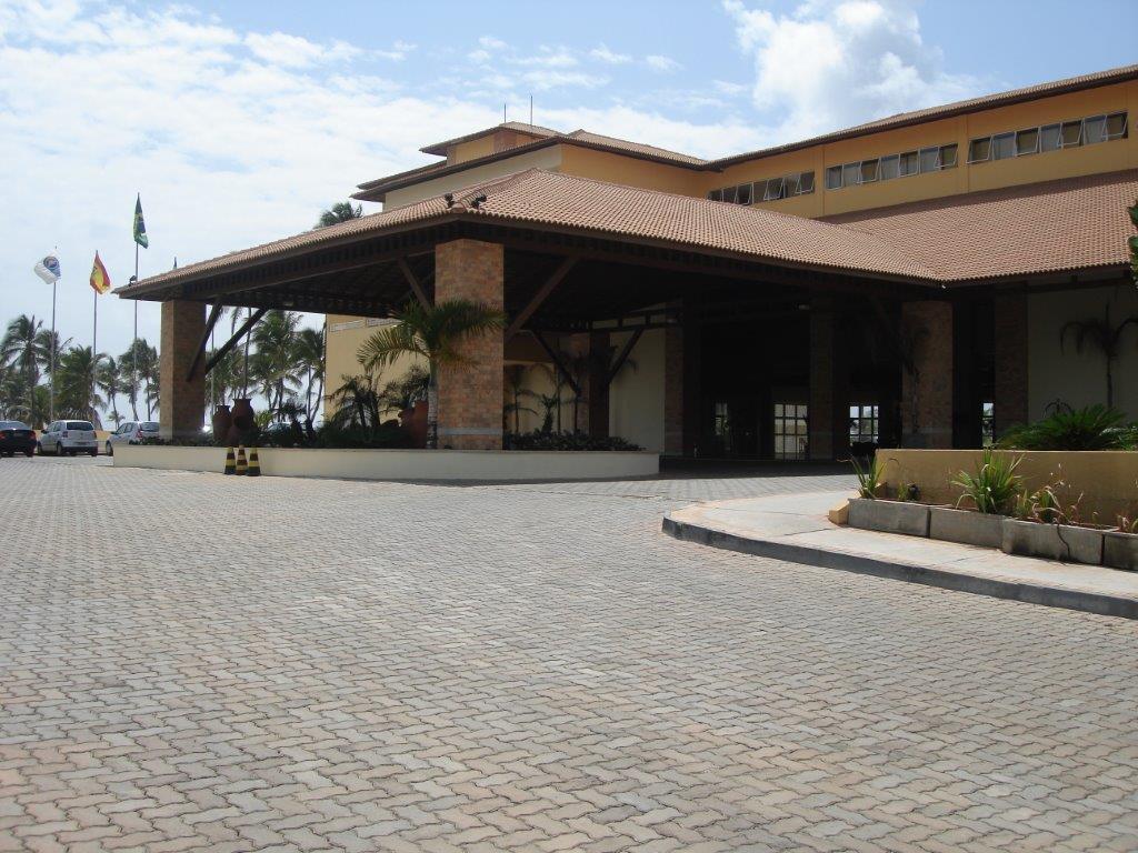Piso UNI-STEIN Ref. 6 aplicado na obra do HOTEL EXPRESS em Salvador, Bahia.