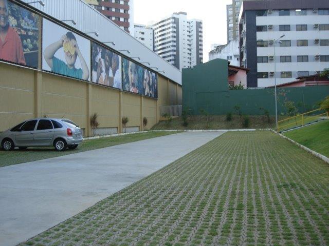 UNI-STEIN Ref. UNI-VERDE foi utilizado na obra do supermercado HIPERIDEAL do bairro da Pituba em Salvador, Bahia.