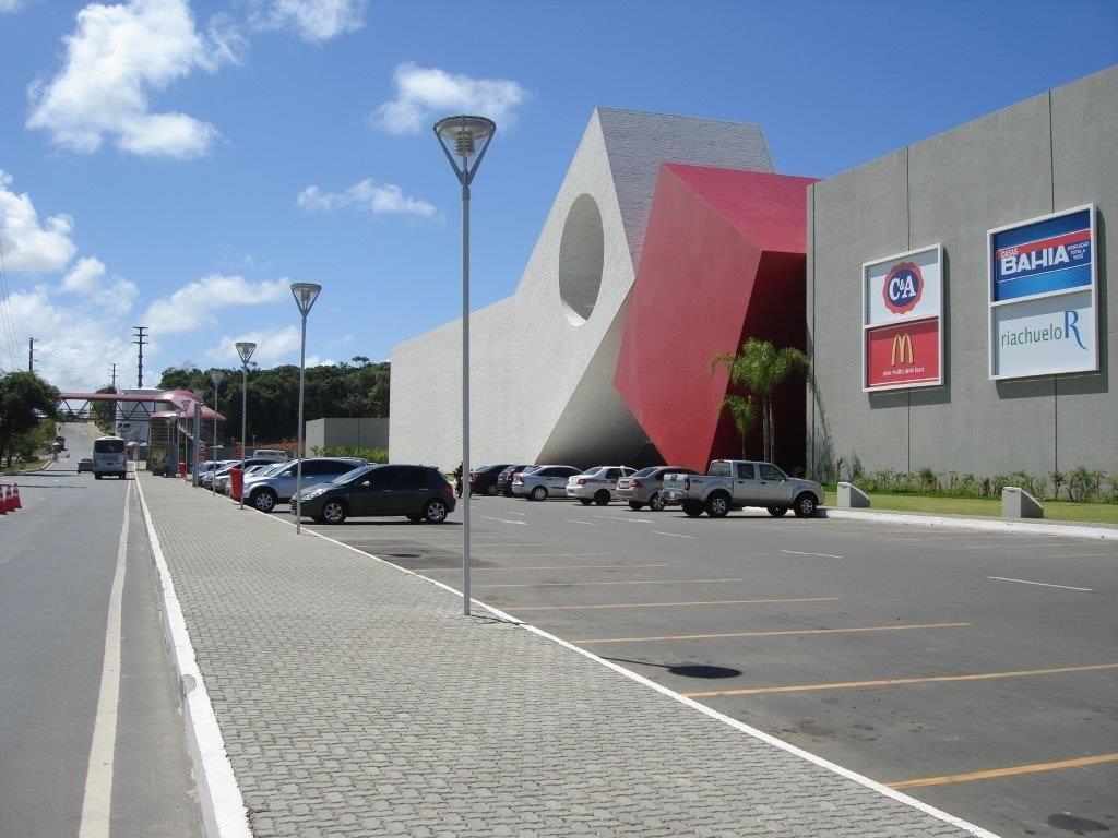 O piso UNI-MINI DA linha UNI-STEIN, foi utilizado na obra do Shopping Paralela em Salvador, Bahia.
