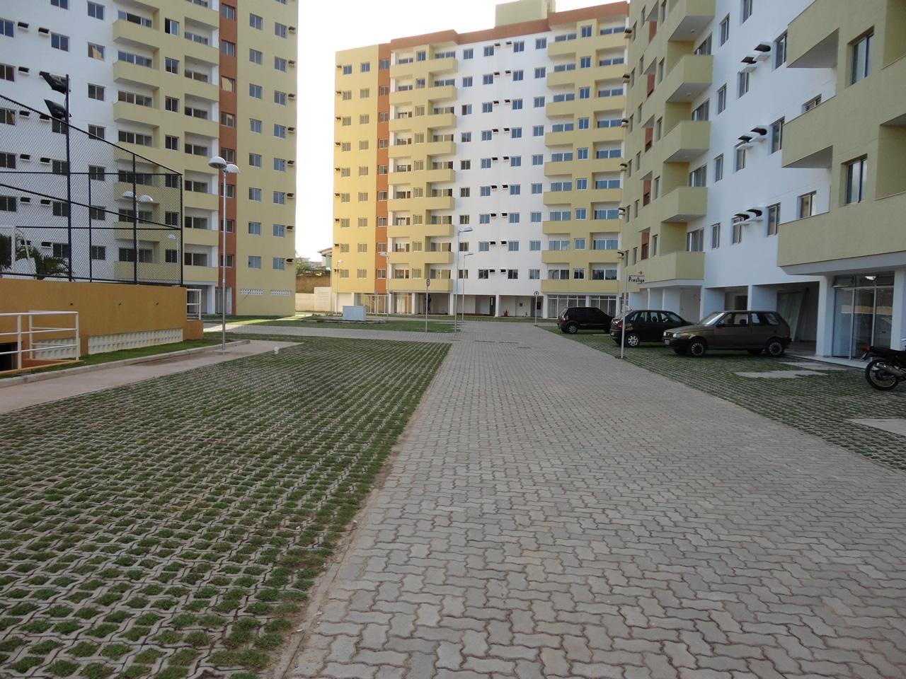 Piso UNI-STEIN Ref. 6 aplicado na obra do Empreendimento Supremo Family em lauro de Freitas, Bahia.