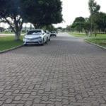 Piso UNI-STEIN Ref. 8 aplicado na obra da Faculdade Adventista, localizado no município de Cachoeira, Bahia.
