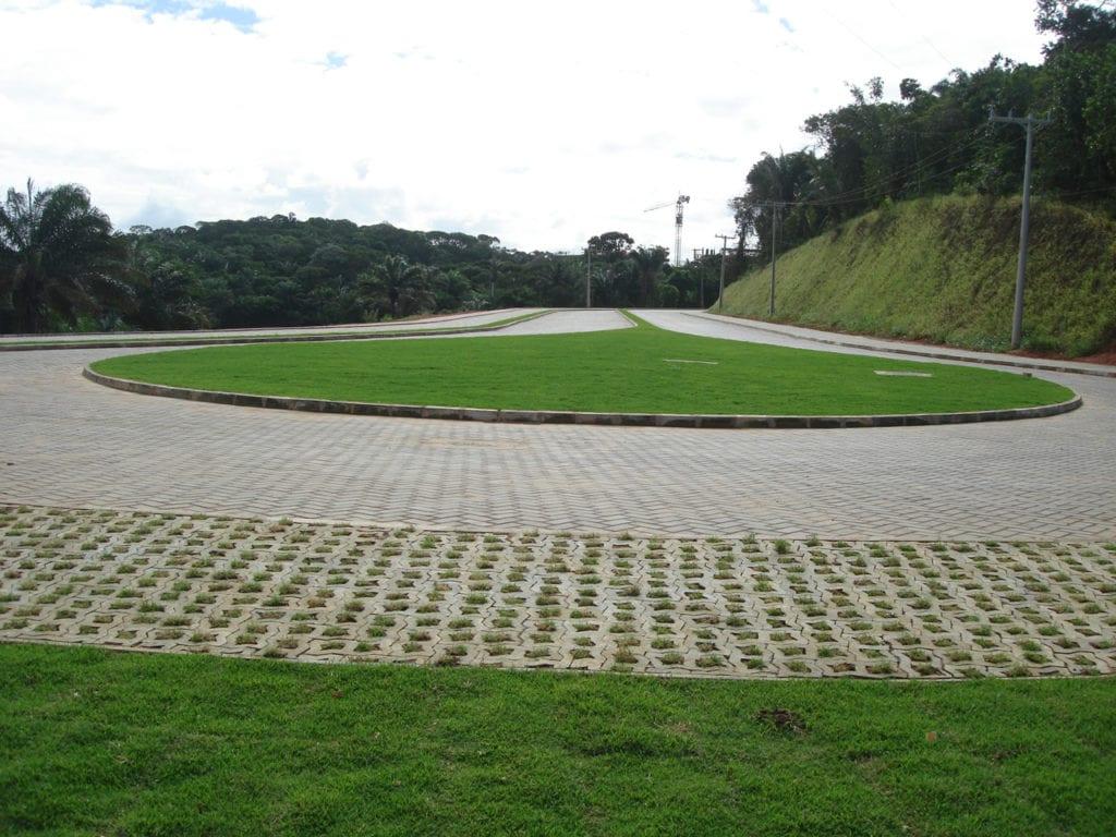 Piso UNI-STEIN Ref. UNI-VERDE foi utilizado na obra do Parque Tecnológico em Salvador, Bahia.