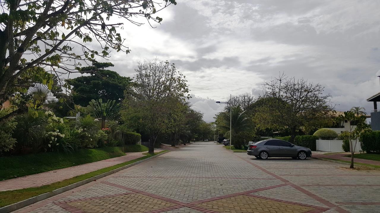 Piso BERNINI Street aplicado na obra do Condomínio Porto Busca Vida Resort, localizado no município de Camaçari, Bahia.