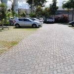 Piso UNI-STEIN Ref. 6 aplicado na obra do Empreendimento Aero Espaço Empresarial & Hotel - Lauro de Freitas, Bahia.