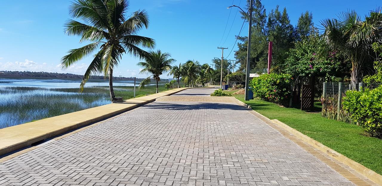 BERNINI Street aplicado na obra do Condomínio Praia dos Lagos em Itacimirim, Bahia.